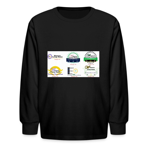 Winners Group Home - Kids' Long Sleeve T-Shirt