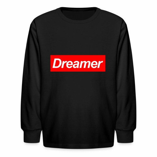 Dreamer - Kids' Long Sleeve T-Shirt