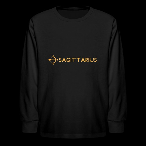 Sagittarius - Kids' Long Sleeve T-Shirt
