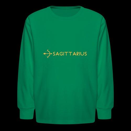Sagittarius - Kids' Long Sleeve T-Shirt