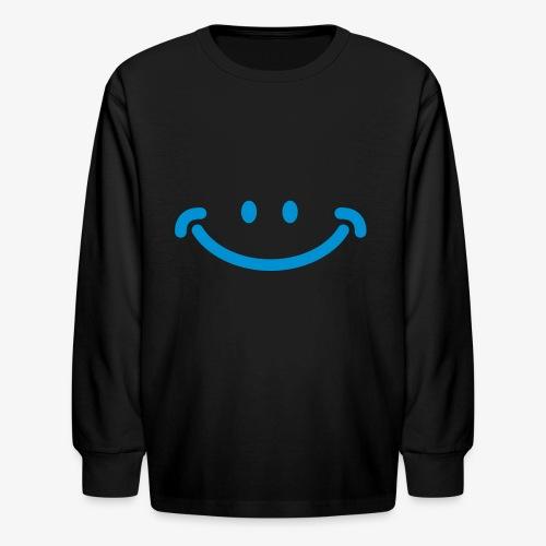 Happy Mug - Kids' Long Sleeve T-Shirt