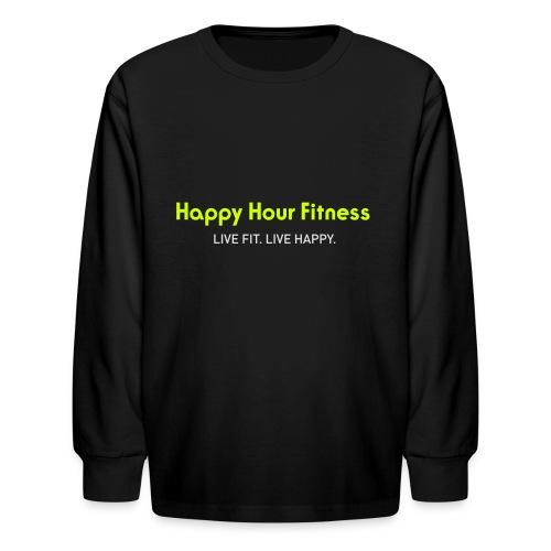 HHF_logotypeandtag - Kids' Long Sleeve T-Shirt