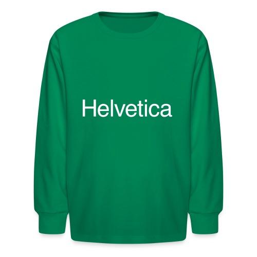 Design 1 - Kids' Long Sleeve T-Shirt