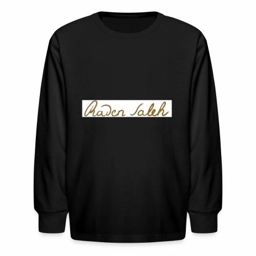 raden saleh signature shirts gross - Kids' Long Sleeve T-Shirt
