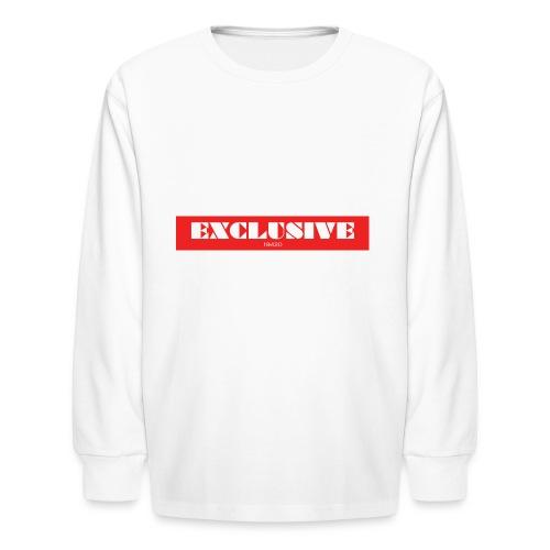 exclusive - Kids' Long Sleeve T-Shirt