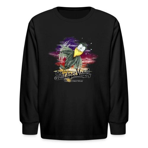 schräger Vogel - Kids' Long Sleeve T-Shirt