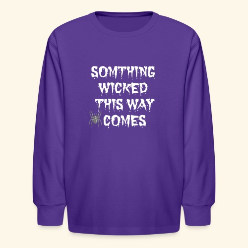 WICKED HALLOWEEN TEE - Kids' Long Sleeve T-Shirt