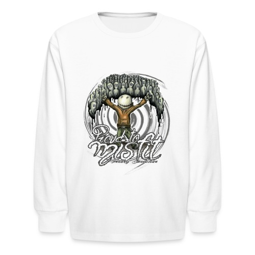 proud to misfit - Kids' Long Sleeve T-Shirt
