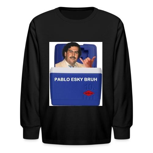 Pablo Esky Bruh - Kids' Long Sleeve T-Shirt
