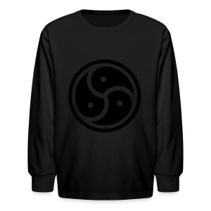 Kink Community Symbol - Kids' Long Sleeve T-Shirt