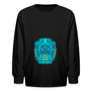 Blue Line - Kids' Long Sleeve T-Shirt