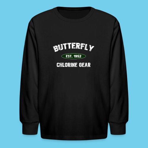 Butterfly est 1952-M - Kids' Long Sleeve T-Shirt