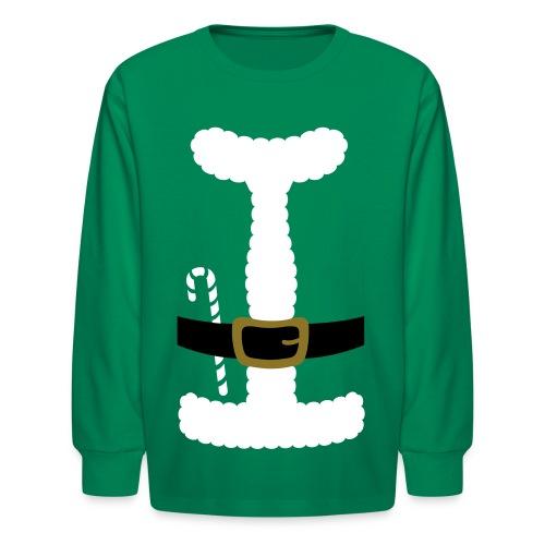 SANTA CLAUS SUIT - Men's Polo Shirt - Kids' Long Sleeve T-Shirt