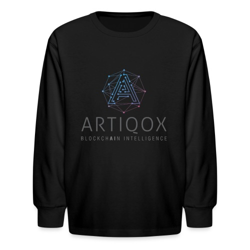 ARTIQOX LOGO - Kids' Long Sleeve T-Shirt