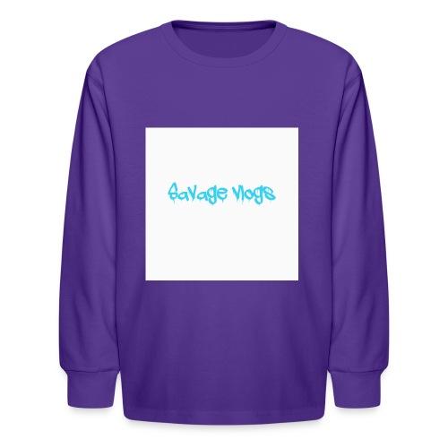 BBE7B1B4 6044 42AF A152 48208328D2C8 - Kids' Long Sleeve T-Shirt