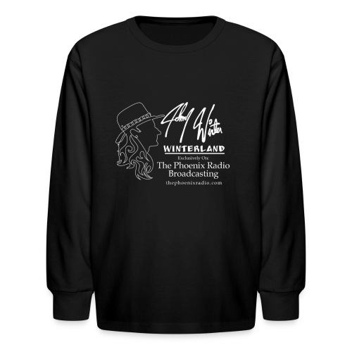 Johnny Winter's Winterland - Kids' Long Sleeve T-Shirt
