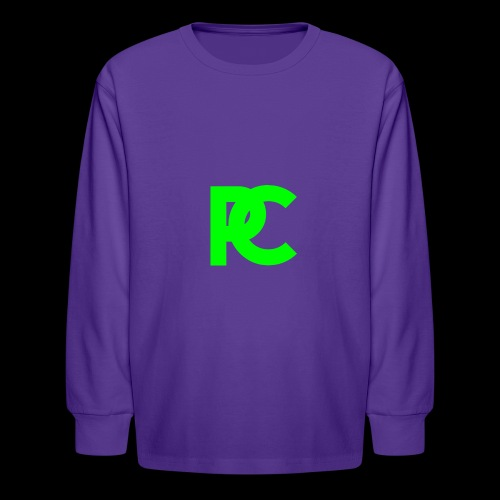 Patrick Calliza Green Logo - Kids' Long Sleeve T-Shirt