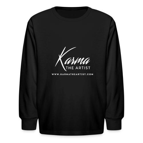 Karma - Kids' Long Sleeve T-Shirt