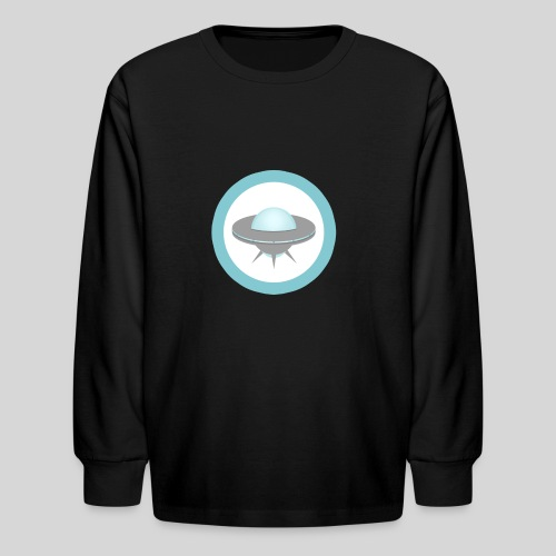 ALIENS WITH WIGS - Small UFO - Kids' Long Sleeve T-Shirt