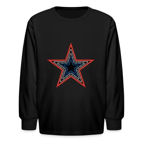 Roanoke Virginia Pride Mill Mountain Star - Kids' Long Sleeve T-Shirt