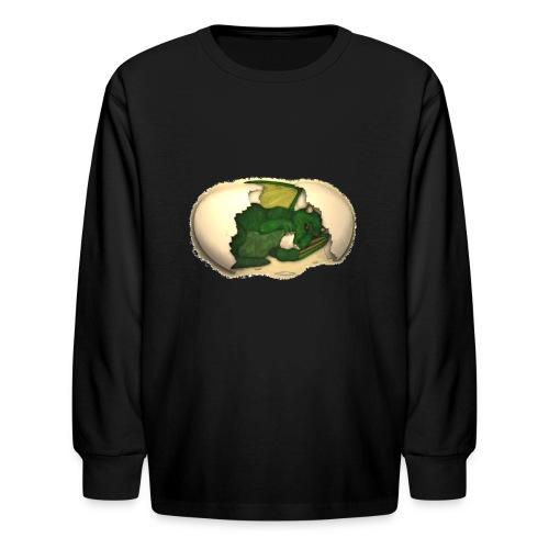 The Emerald Dragon of Nital - Kids' Long Sleeve T-Shirt