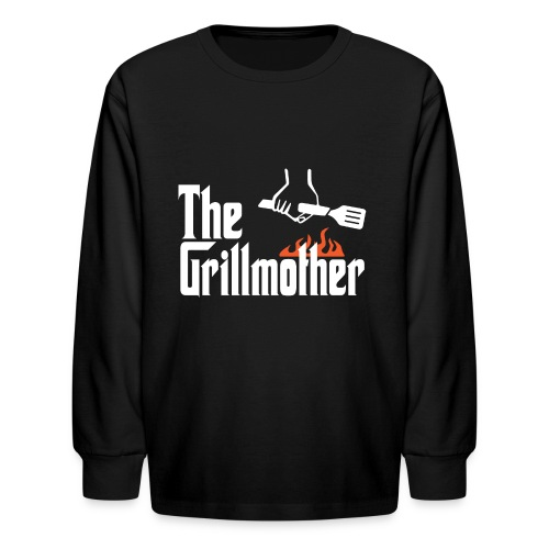 The Grillmother - Kids' Long Sleeve T-Shirt