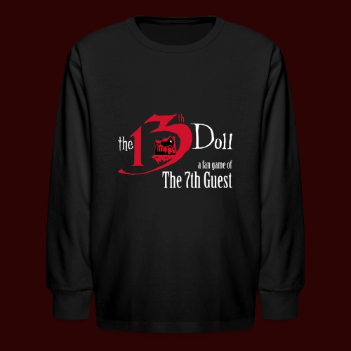 The 13th Doll Logo - Kids' Long Sleeve T-Shirt