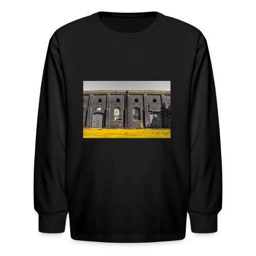 Bricks: who worked here - Kids' Long Sleeve T-Shirt