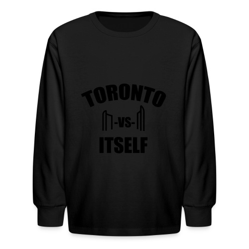 6 Versus 6 - Kids' Long Sleeve T-Shirt