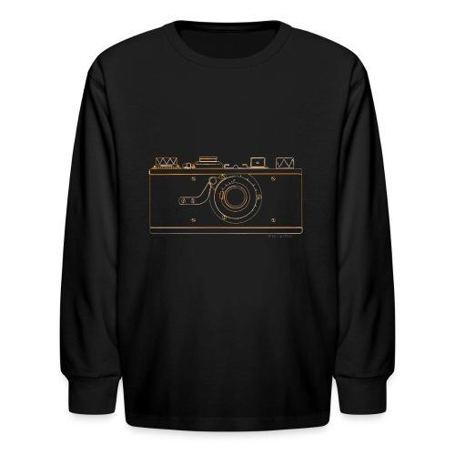 GAS - Leica M1 - Kids' Long Sleeve T-Shirt