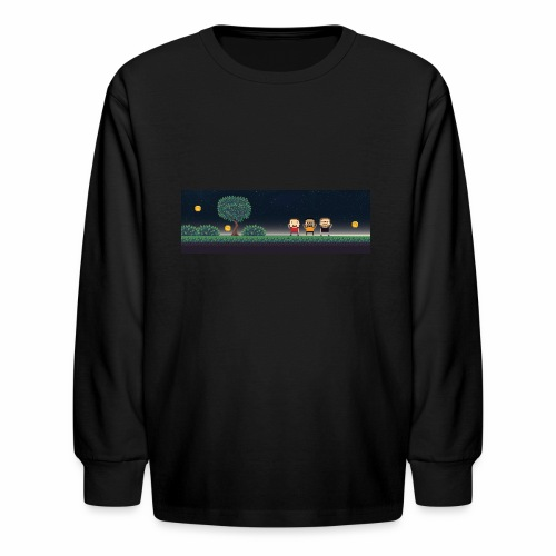 Twitter Header 01 - Kids' Long Sleeve T-Shirt