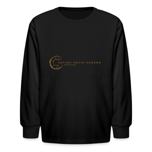 AMMT Logo Modern Look - Kids' Long Sleeve T-Shirt