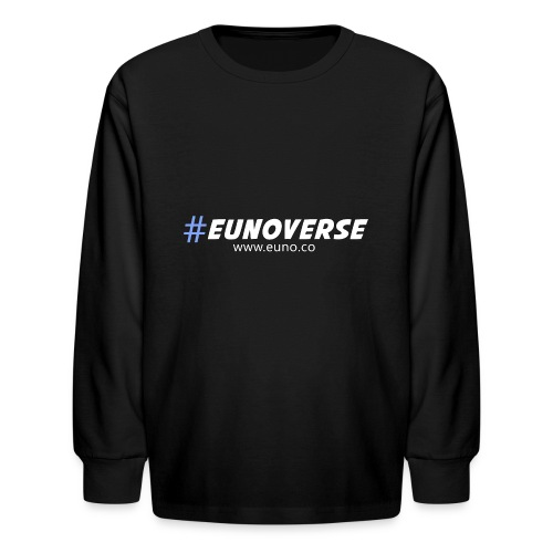 #Eunoverse Tag - Kids' Long Sleeve T-Shirt