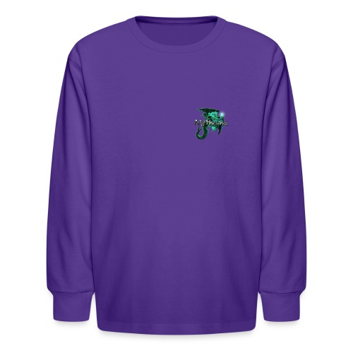 dragontshirtbrightersmaller - Kids' Long Sleeve T-Shirt