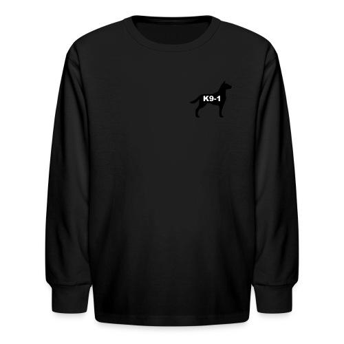 k9-1 Logo Large - Kids' Long Sleeve T-Shirt