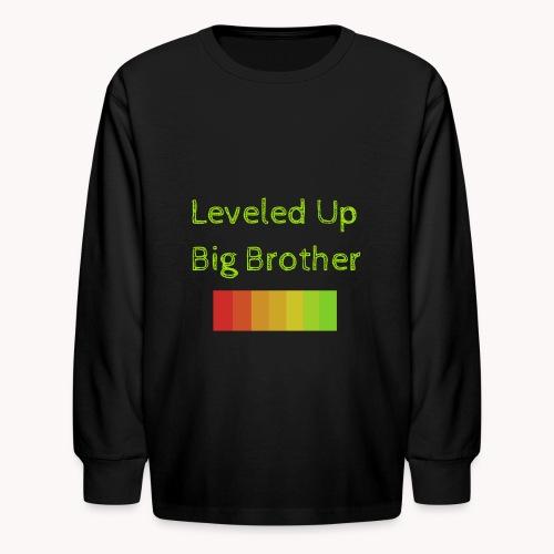 Leveled Up - Kids' Long Sleeve T-Shirt