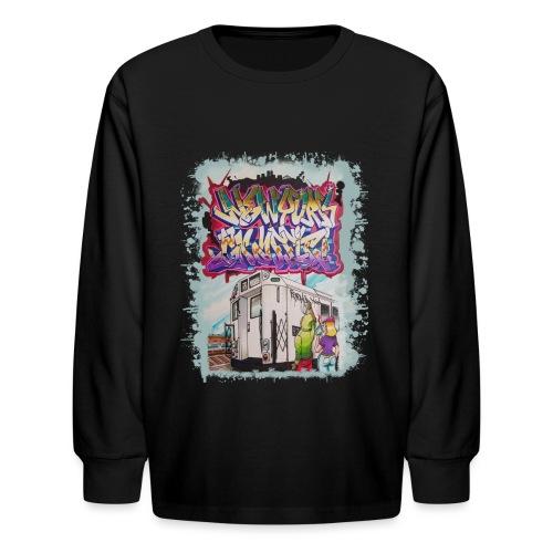 STEM - Design for NYG - Kids' Long Sleeve T-Shirt