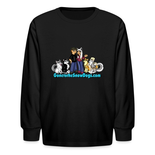 Snow Dogs Vlogs Logo - Kids' Long Sleeve T-Shirt