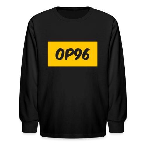 OP96FirstLogo - Kids' Long Sleeve T-Shirt