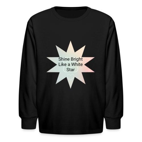 Photo 1514476838633 - Kids' Long Sleeve T-Shirt
