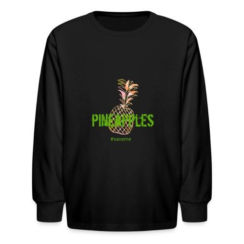 pineapples - Kids' Long Sleeve T-Shirt