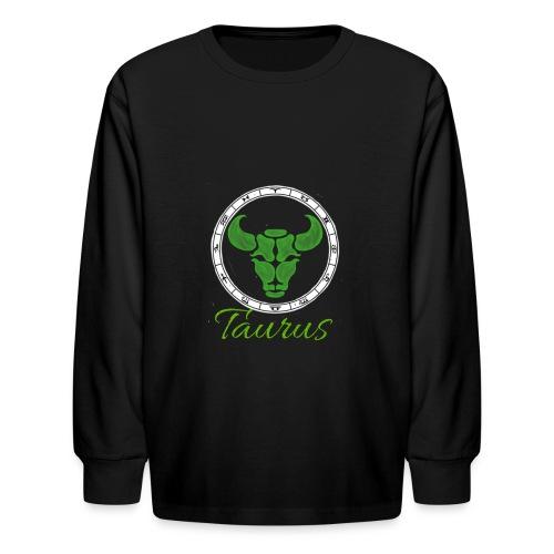 taurus - Kids' Long Sleeve T-Shirt