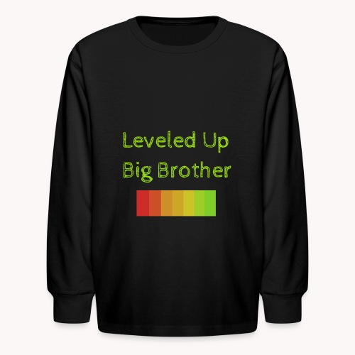 Leveled Up - Kids' Long Sleeve T-Shirt