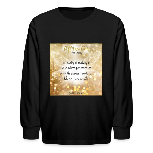 Abundance - Kids' Long Sleeve T-Shirt