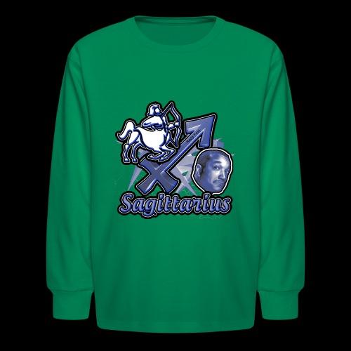 Sagittarius Redd Foxx - Kids' Long Sleeve T-Shirt
