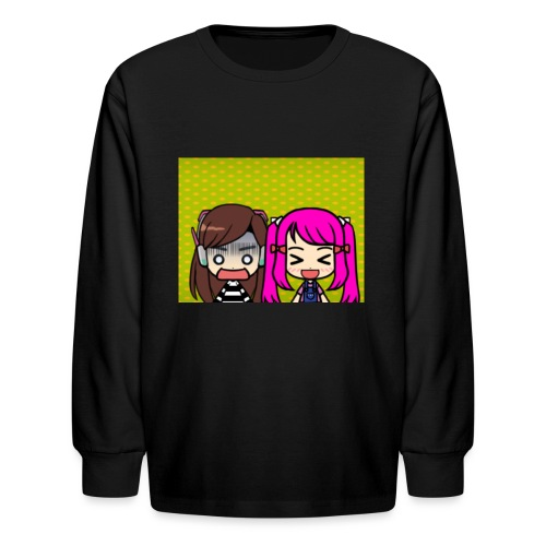 Phone case merch of jazzy and raven - Kids' Long Sleeve T-Shirt