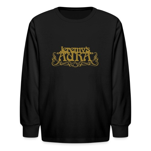 Jeremy's Art Nouveau Logo - Kids' Long Sleeve T-Shirt