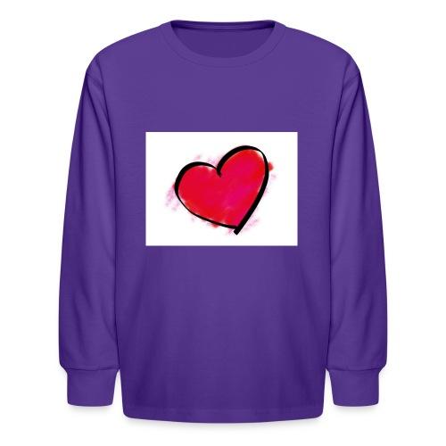 heart 192957 960 720 - Kids' Long Sleeve T-Shirt