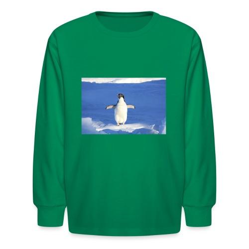 Mr. Penguin - Kids' Long Sleeve T-Shirt