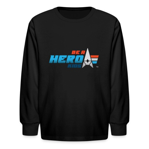 BHK primary full color stylized TM - Kids' Long Sleeve T-Shirt